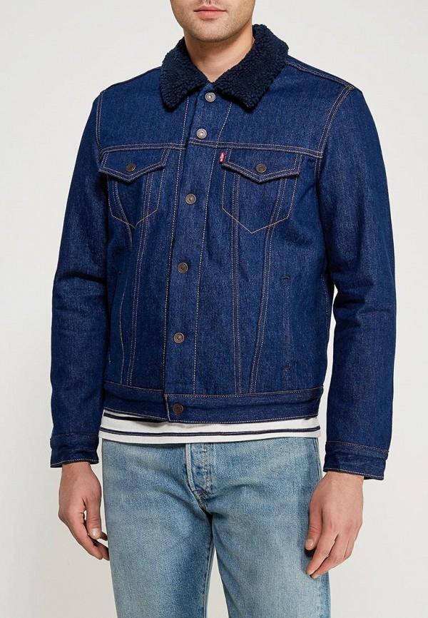 Купить Куртка джинсовая Levi's®, Trucker, le306emzyr40, синий, Весна-лето 2018