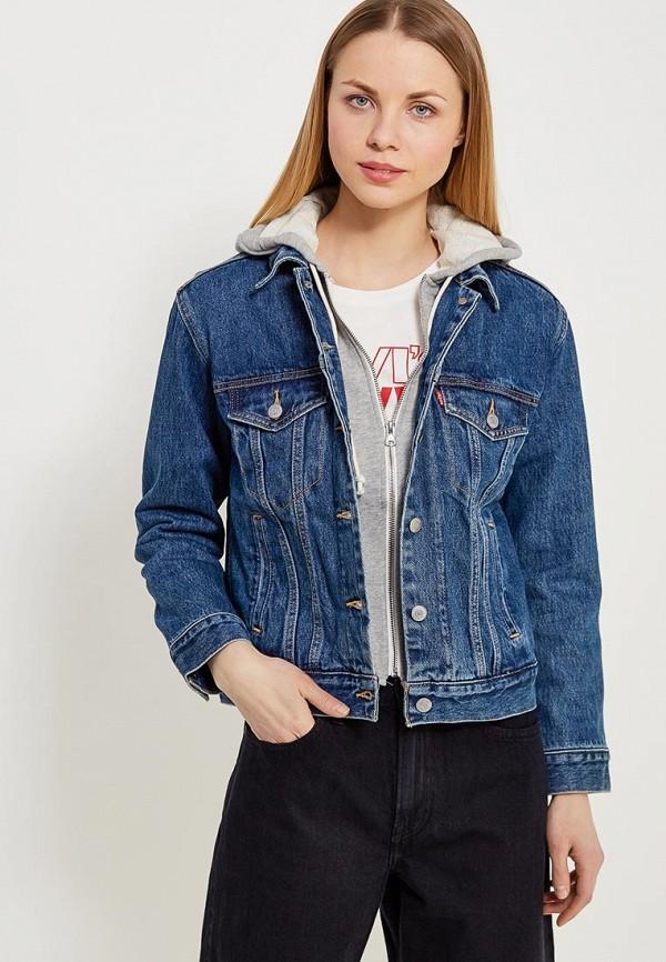 Купить Куртка джинсовая Levi's®, Trucker, le306ewafzu1, синий, Весна-лето 2018