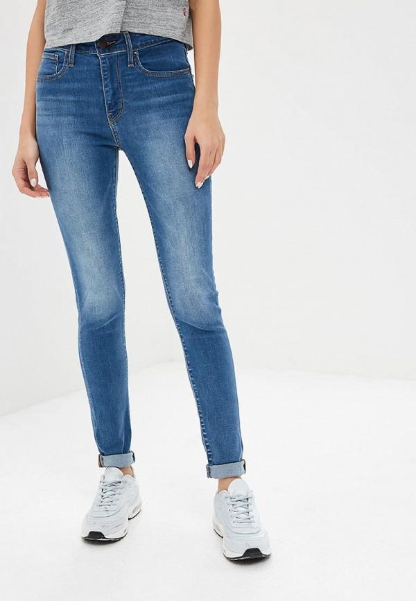 Купить Джинсы Levi's®, 721 High Rise Skinny, le306ewbpkz9, синий, Весна-лето 2019