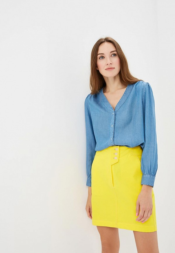 женская блузка levi's®, синяя