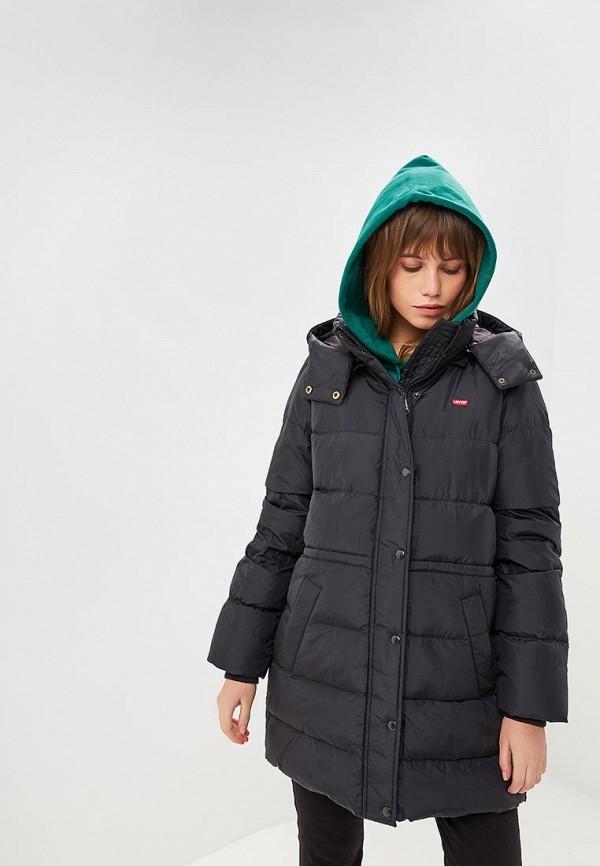 Купить Парка Levi's®, LE306EWBPLS8, черный, Осень-зима 2018/2019
