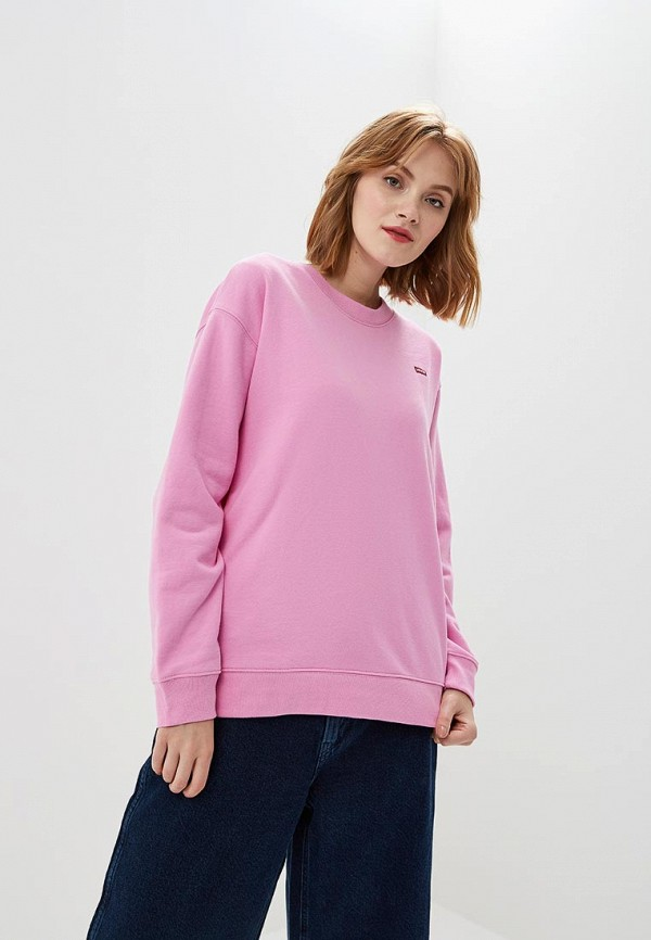 Купить Свитшот Levi's®, le306ewbpls9, розовый, Осень-зима 2018/2019