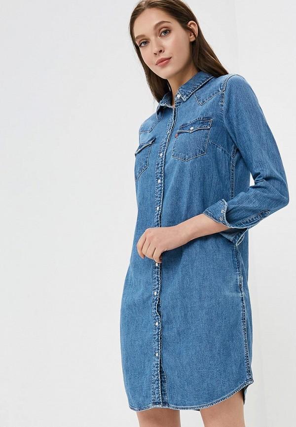 Платье джинсовое Levi's® Levi's® LE306EWBPLV7 платье джинсовое d
