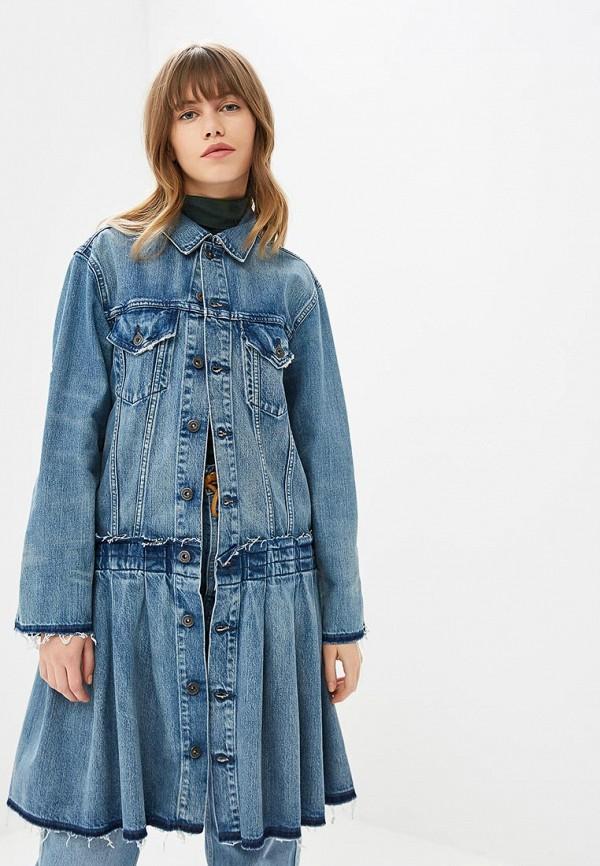 Купить Куртка джинсовая Levi's® Made & Crafted™, le306ewbply5, голубой, Осень-зима 2018/2019