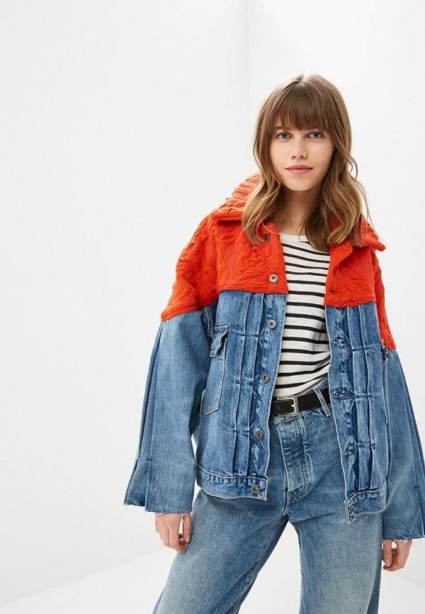 Купить Куртка джинсовая Levi's® Made & Crafted™, le306ewbply9, разноцветный, Осень-зима 2018/2019