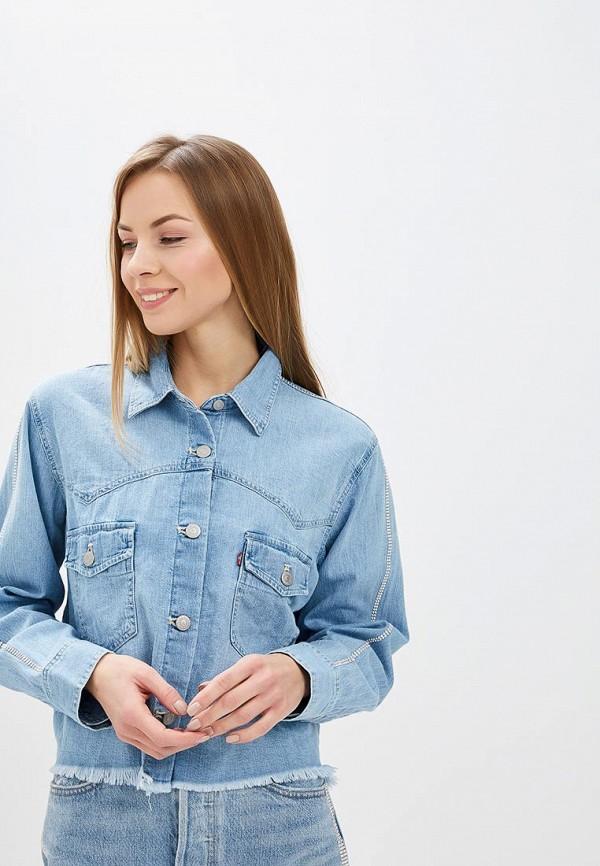 Купить Рубашка джинсовая Levi's®, le306ewdhby8, голубой, Осень-зима 2018/2019