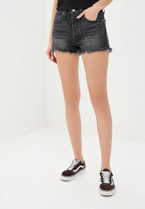 женские шорты levi's®, черные