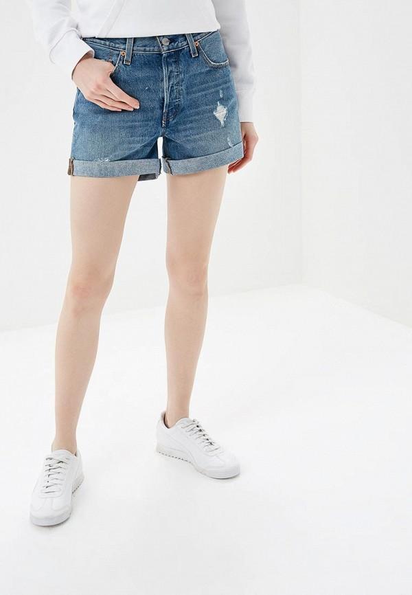 женские джинсовые шорты levi's®, синие