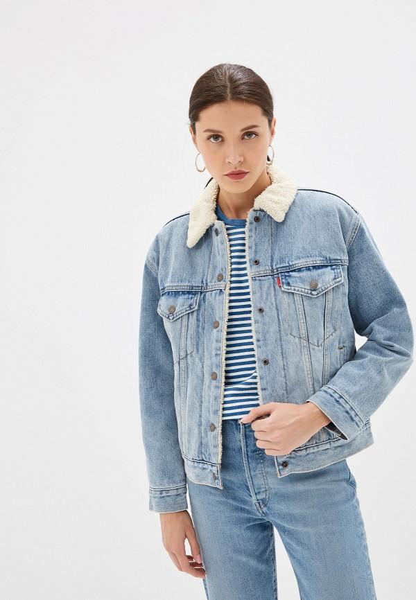 Купить Куртку джинсовая Levi's® голубого цвета