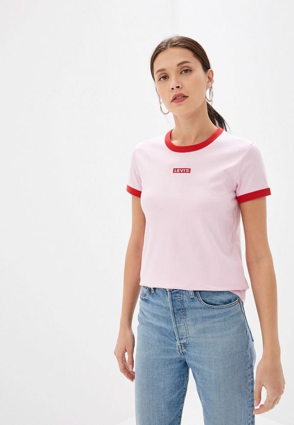Купить Футболку Levi's® розового цвета