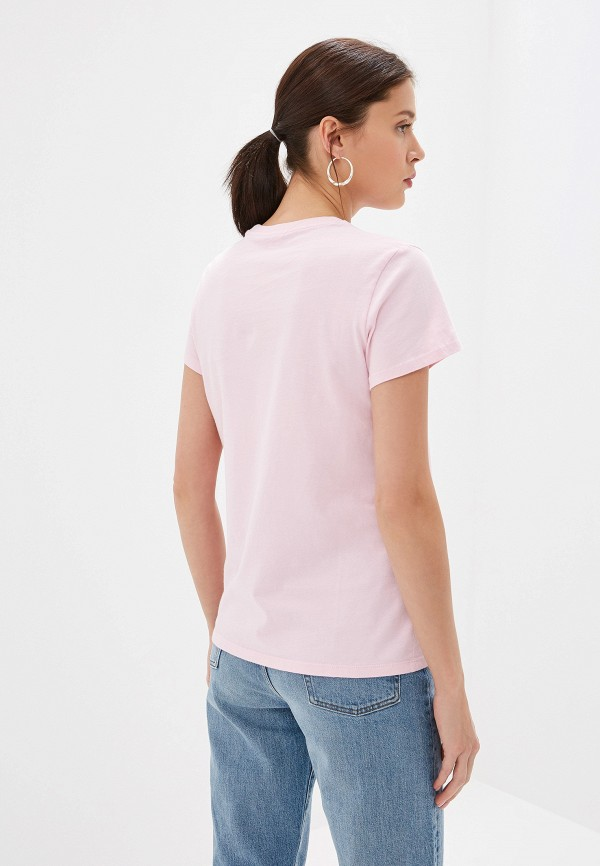 Фото 3 - Футболку Levi's® розового цвета