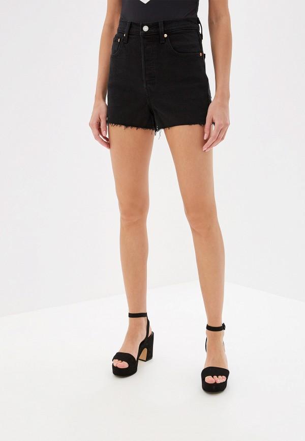женские джинсовые шорты levi's®, черные