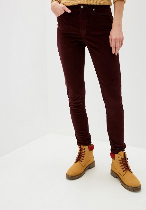 женские брюки levi's®, бордовые