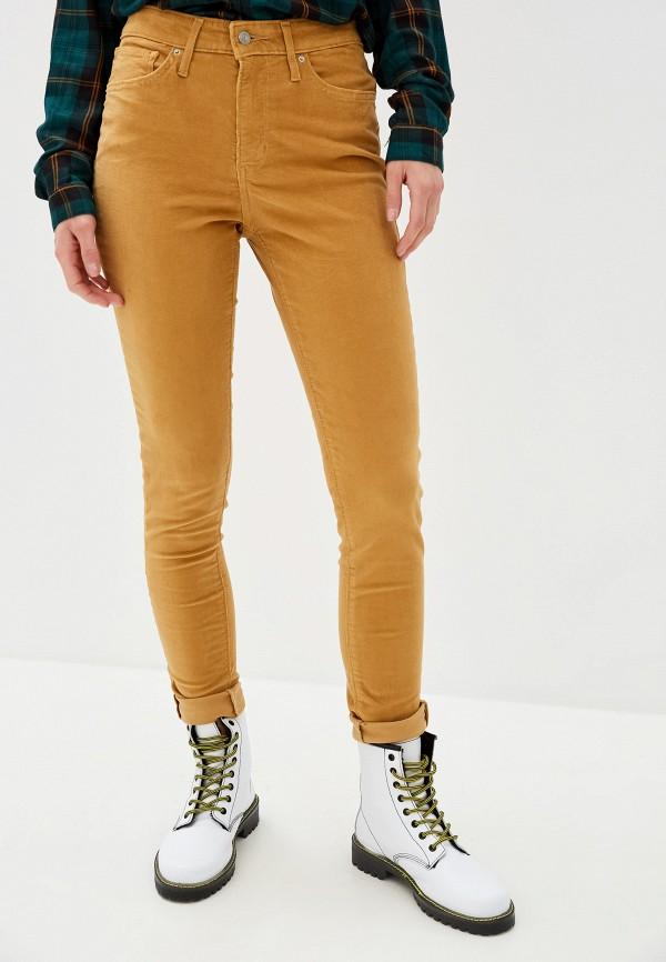 женские брюки levi's®, бежевые
