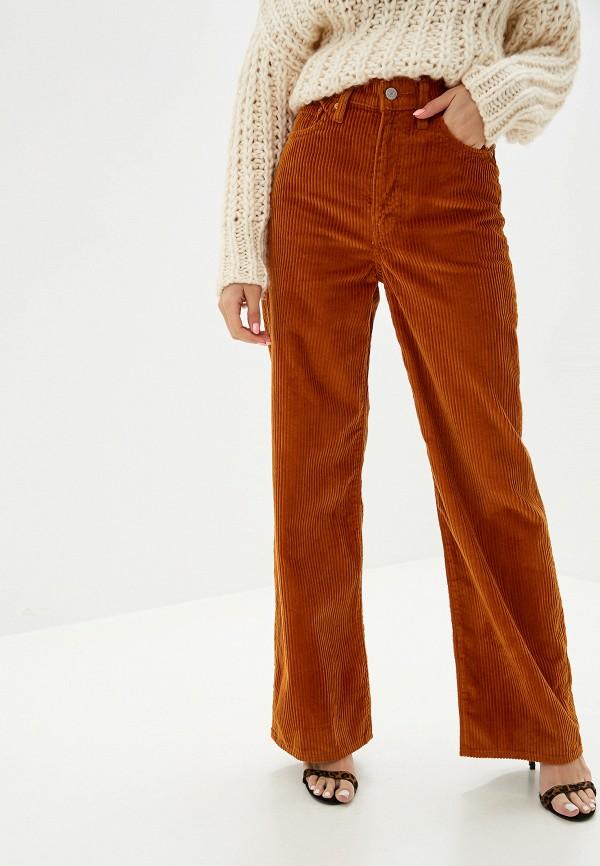 женские брюки levi's®, оранжевые