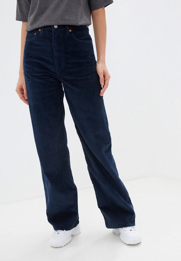 женские повседневные брюки levi's®, синие