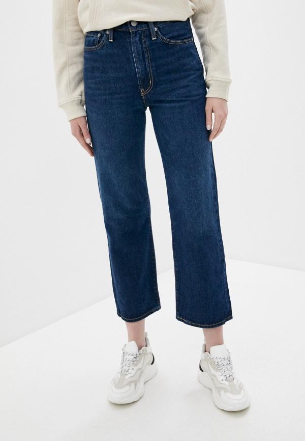женские прямые джинсы levi's®, синие