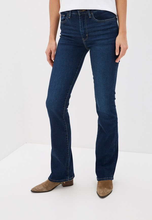 женские джинсы клеш levi's®, синие