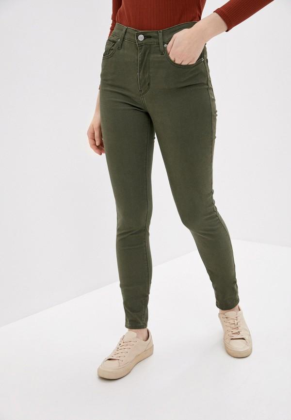 женские повседневные брюки levi's®, хаки