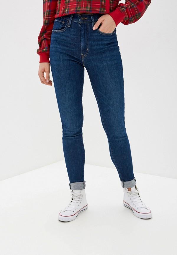 женские джинсы скинни levi's®, синие