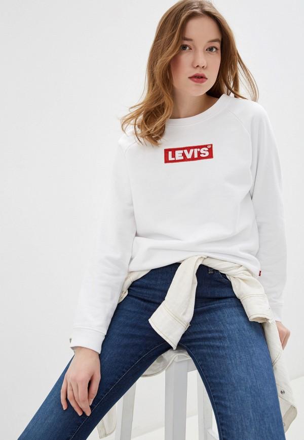 женский свитшот levi's®, белый