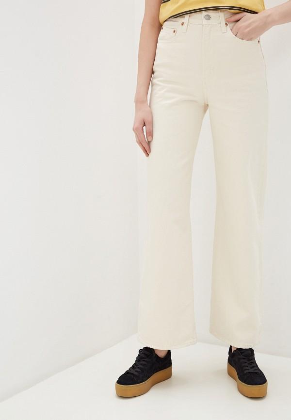 женские джинсы клеш levi's®, белые