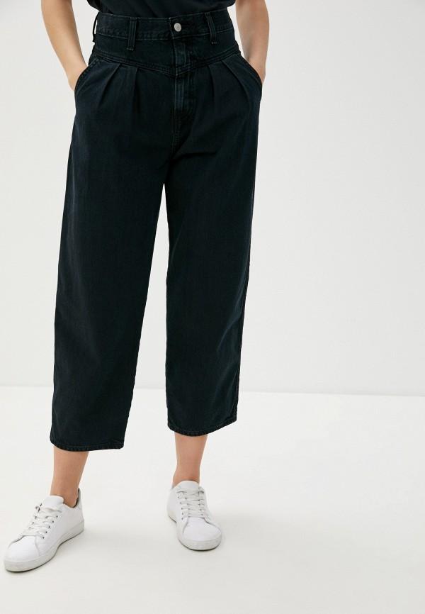 женские джинсы-мом levi's®, черные