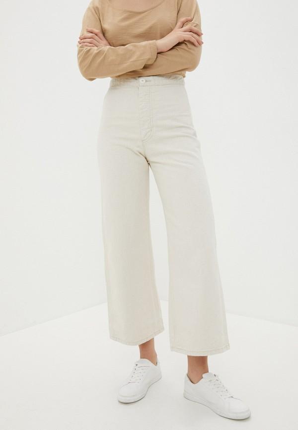 женские повседневные брюки levi's®, бежевые