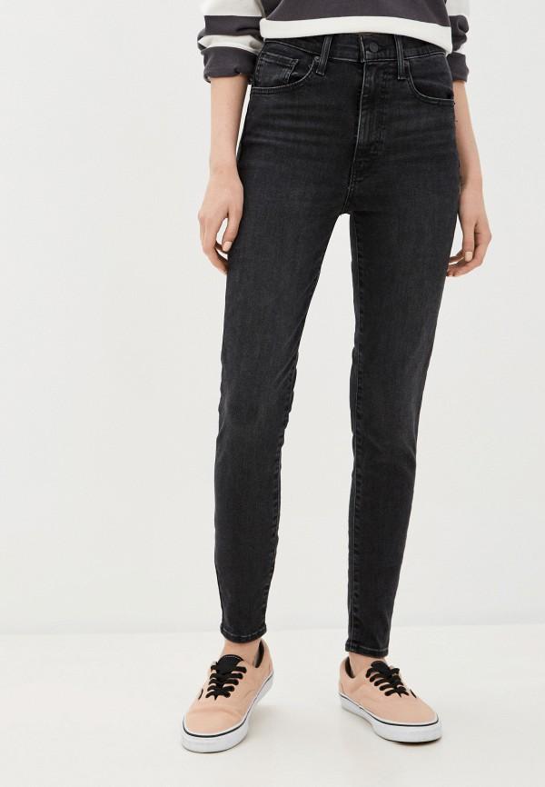 женские джинсы скинни levi's®, черные