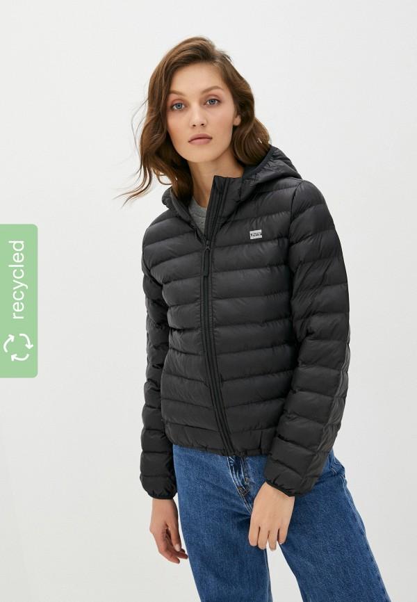женская утепленные куртка levi's®, черная