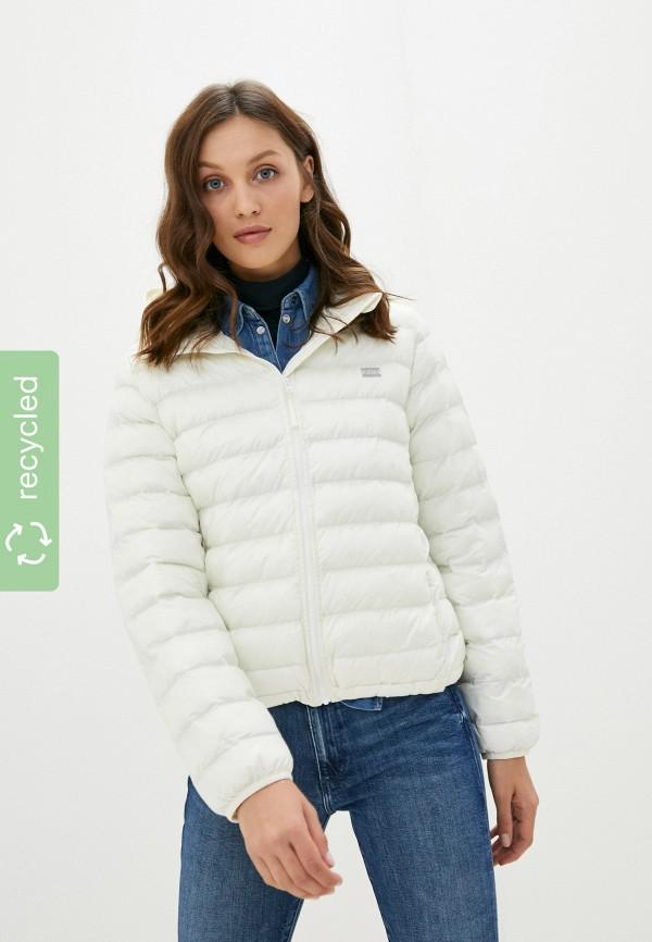 женская утепленные куртка levi's®, бежевая