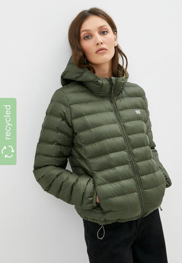 женская утепленные куртка levi's®, хаки