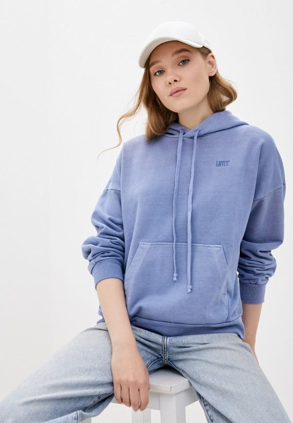 женские худи levi's®, синие