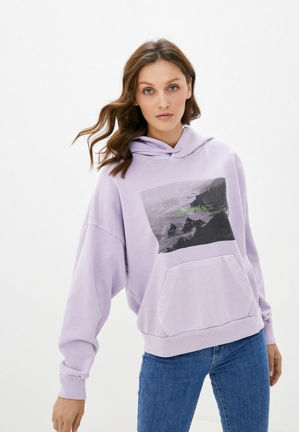 женские худи levi's®, фиолетовые