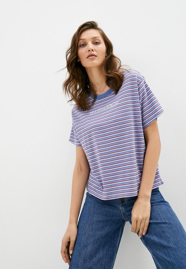 женская футболка levi's®, разноцветная