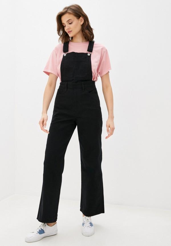 женский джинсовые комбинезон levi's®, черный