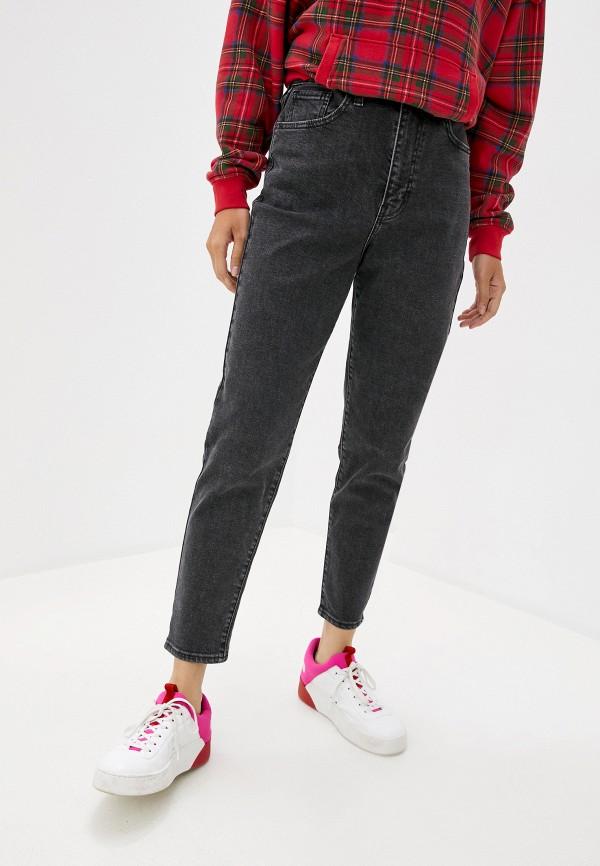 женские джинсы с высокой посадкой levi's®, серые