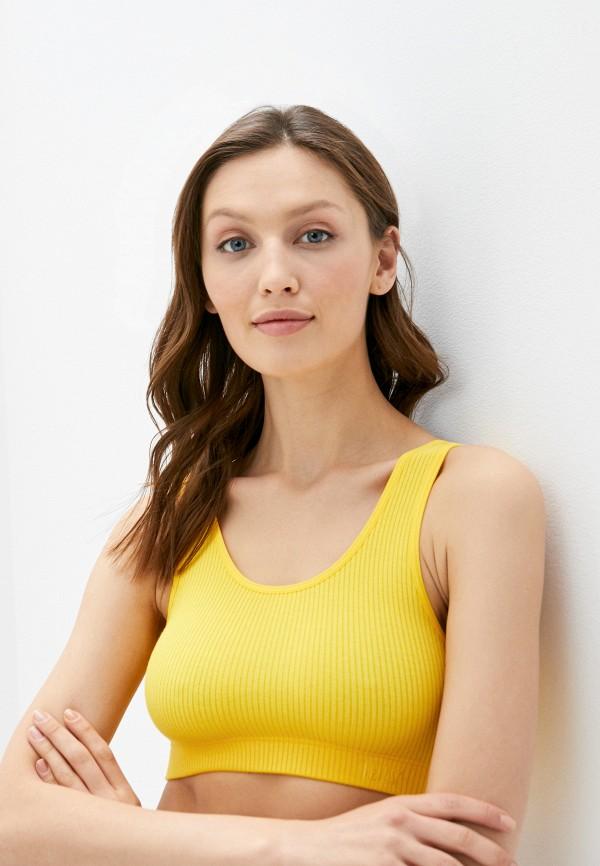 женский бюстгальтер levi's®, желтый