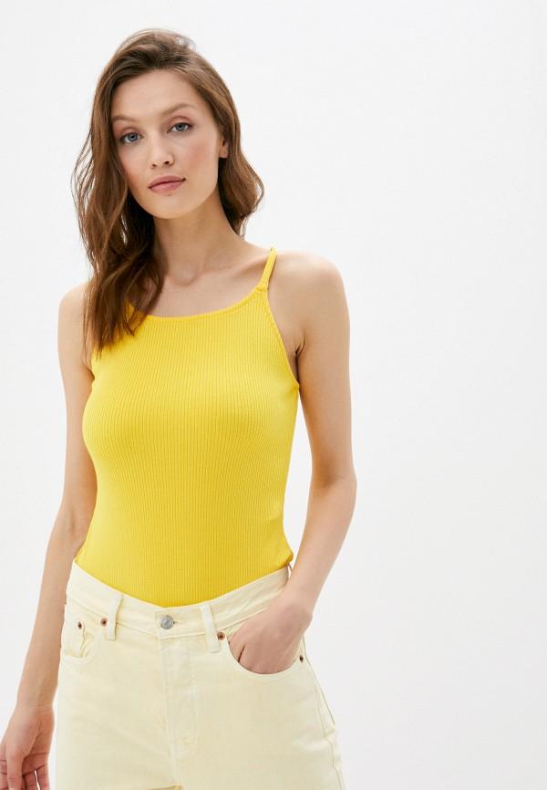 женские боди levi's®, желтые