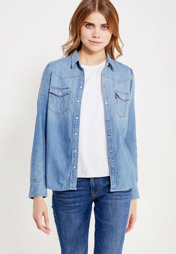 Купить Рубашка джинсовая Levi's®, LE306EWJVO91, голубой, Весна-лето 2018