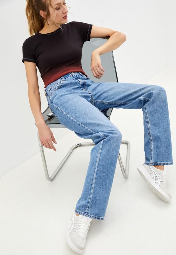 женские джинсы клеш levi's®, голубые