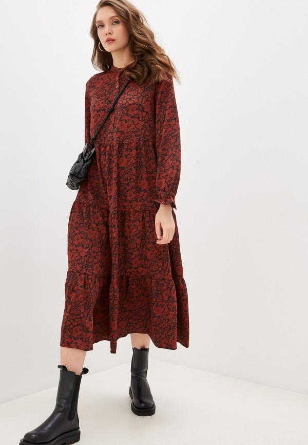 женское повседневные платье levi's®, бордовое