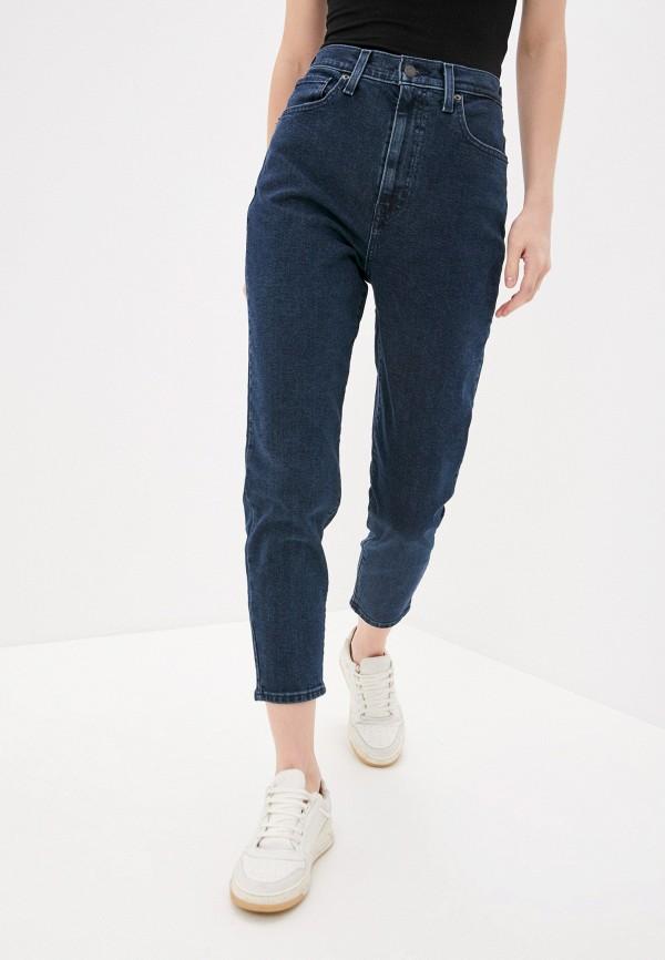 женские джинсы-мом levi's®, синие