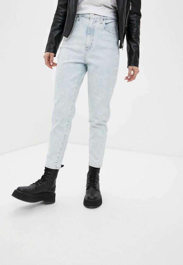 женские джинсы-мом levi's®, голубые