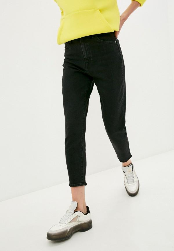 женские джинсы с высокой посадкой levi's®, черные