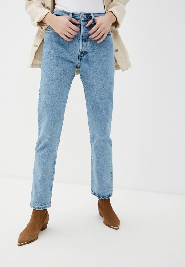 женские прямые джинсы levi's®, голубые