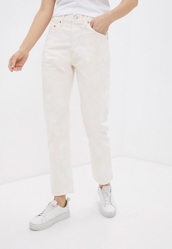 женские повседневные брюки levi's®, розовые