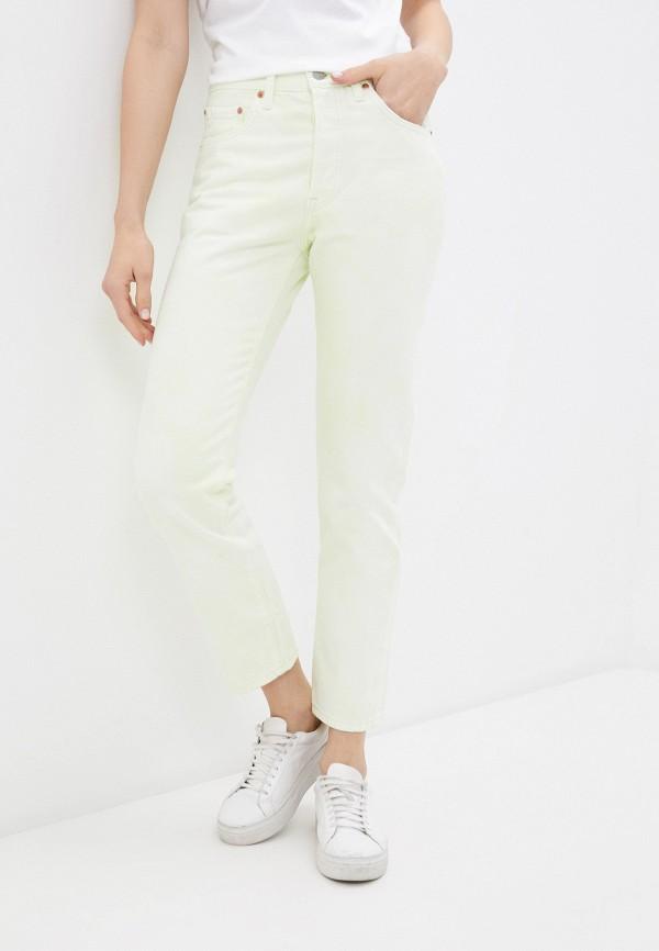 женские повседневные брюки levi's®, зеленые
