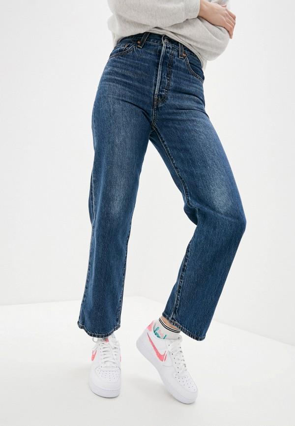 женские джинсы бойфренд levi's®, синие