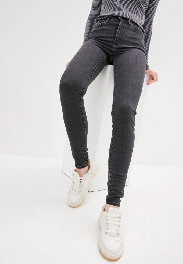 женские джинсы скинни levi's®, серые